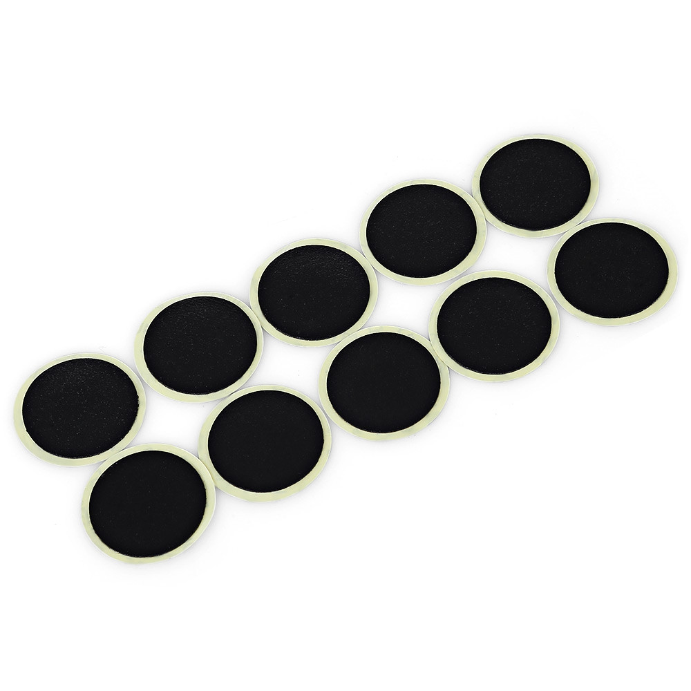 DUUTI 10pcs Bike Inner Tire Tube No-glue Rubber Patch