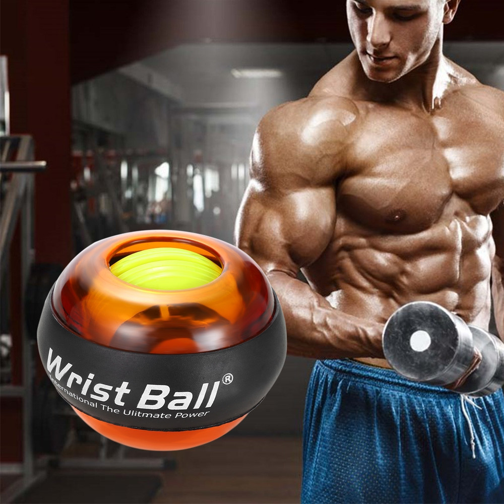Wrist Ball Gyroscope Roller Force Strengthener Arm Exerciser