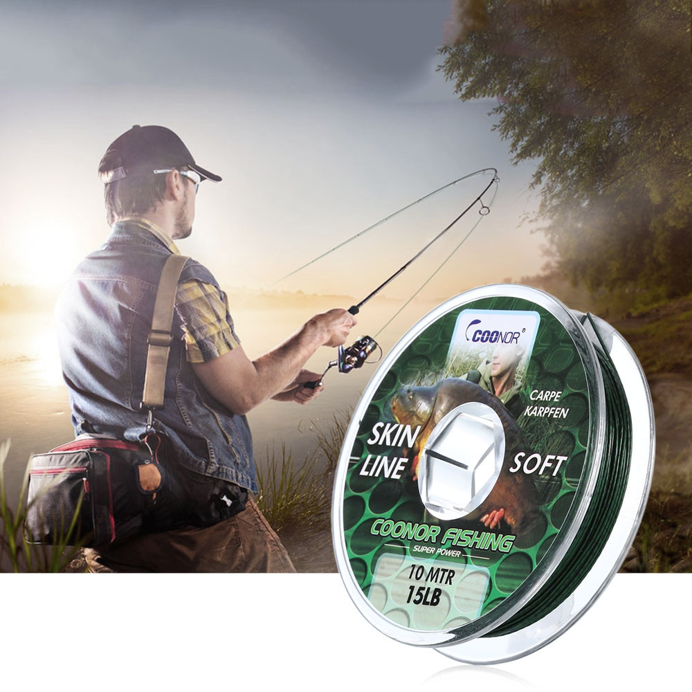 COONOR 10M Multifilament Casting Carp Skin Fishing Line