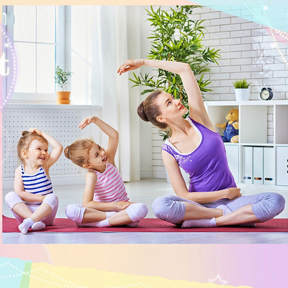 Durable Eco Friendly High Density Memory Foam NBR Anti-slip Yoga Mat