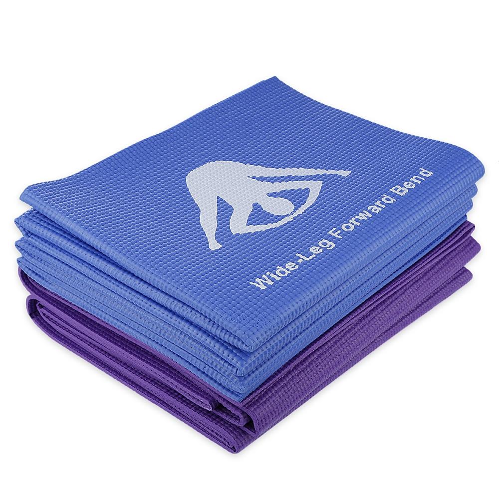 Outlife 173CM Non-slip Reversible Fitness PVC Yoga Mat