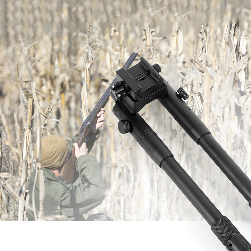 6 - 9 Inch Adjustable Spring Bipod for Hunting