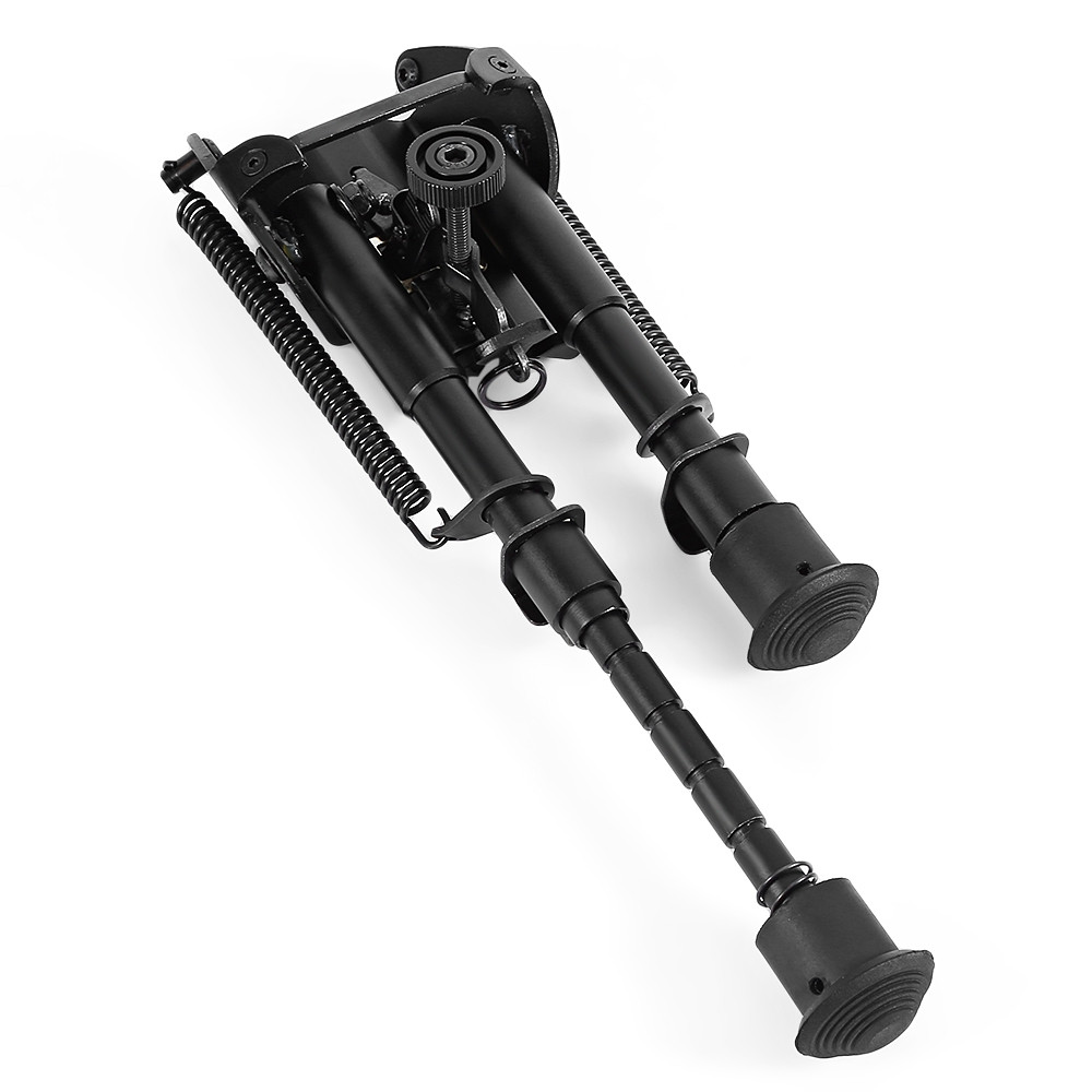HD1806 Sniper Hunting Rifle Bipod Sling Swivel Height + Adapter
