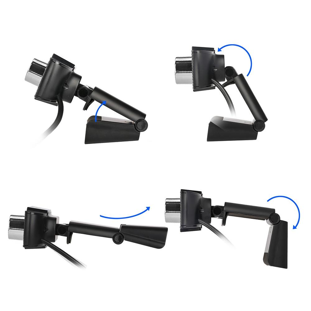 HXSJ S30 1 Megapixel HD Camera Webcam with Microphone