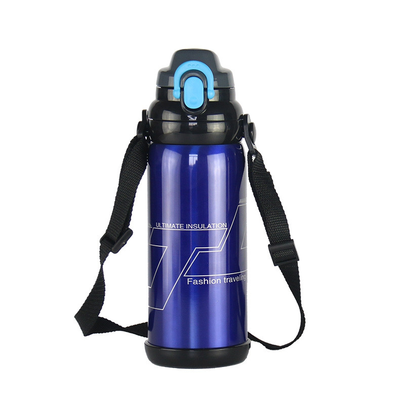 Stainless Steel Outdoor Portable Sports Kettle 800ML