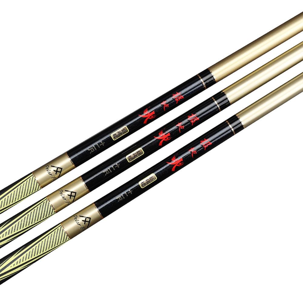 Polarfire DYG301 Outdoor Fishing Gear Carbon Paint 3.6 Meters 4.5 Meters 5.4 Meters Telescopic 28 Fishing Rod