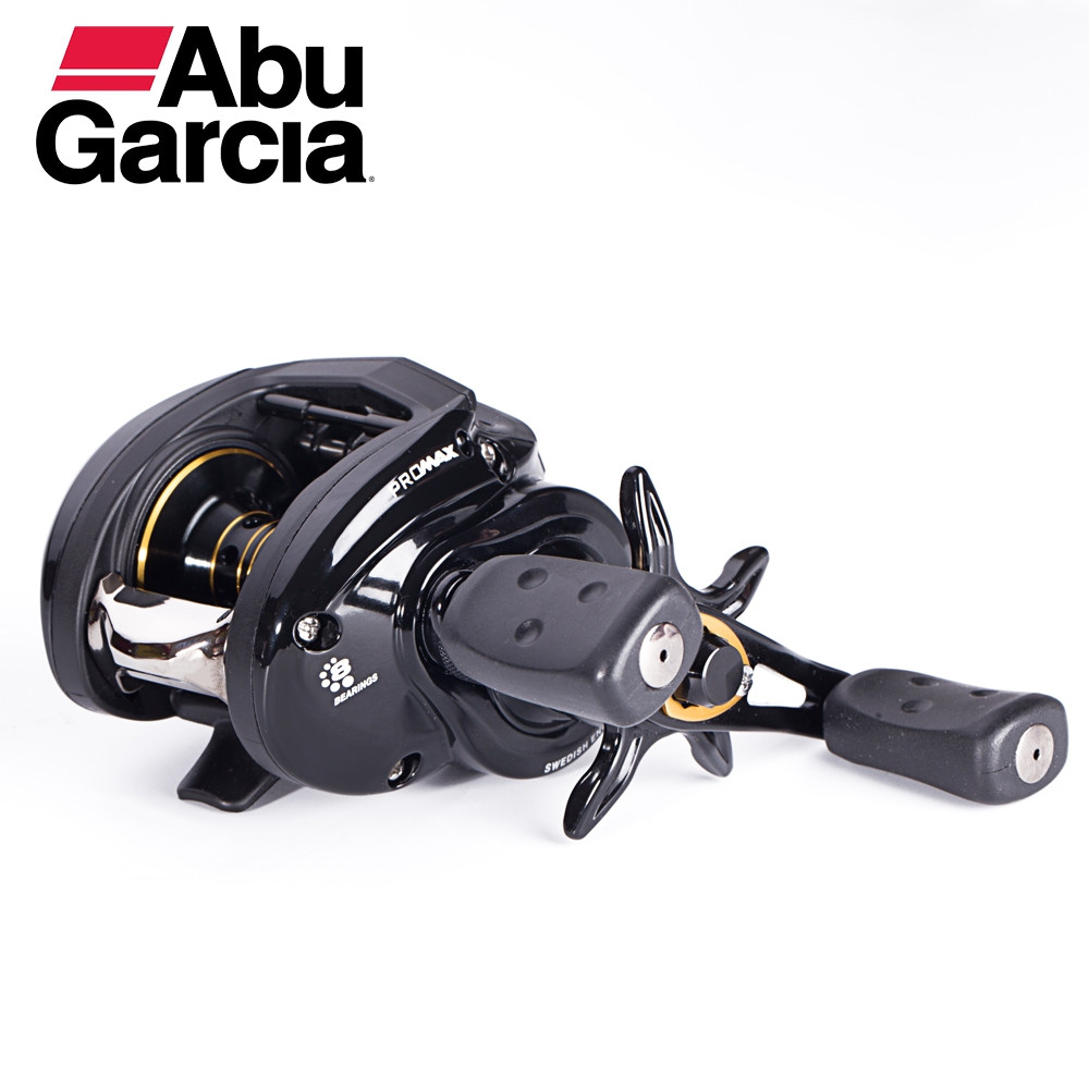Abu Garcia PRO MAX3 Series High Speed 7+1 Ball Bearing Carbon Fiber Baitcast Fishing Reel