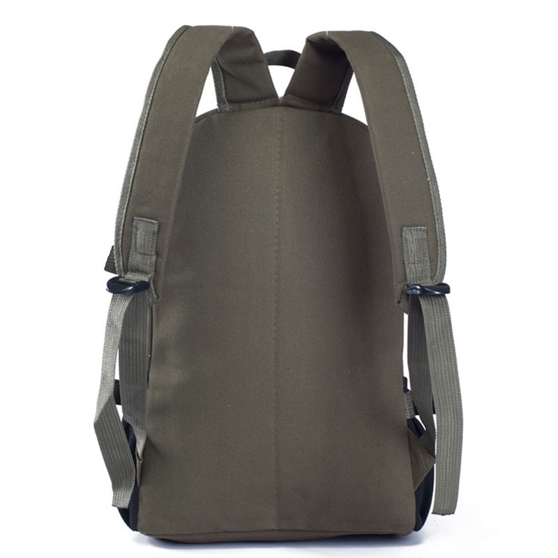 Couple Side Pocket Canvas Backpack