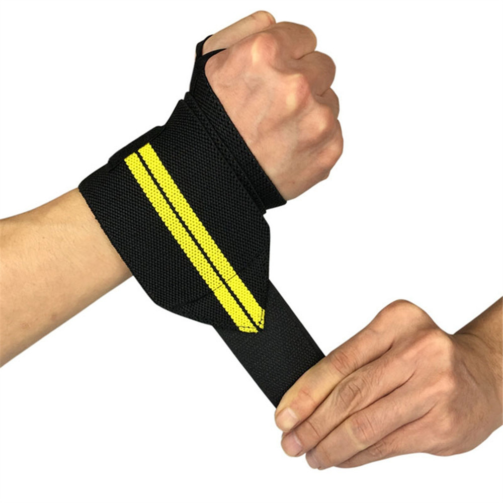 1PCS Adjustable Wristband Elastic Wraps Bandages for Weightlifting Powerlifting
