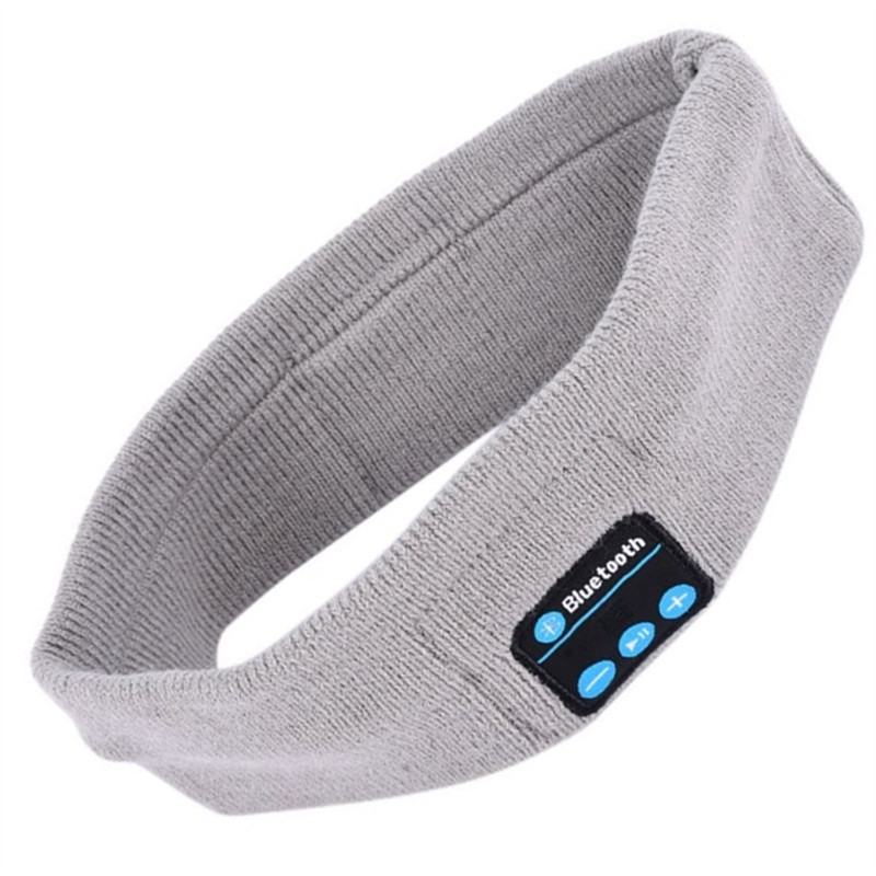 Bluetooth Music Knitted Sports Headband Headwear Headphones