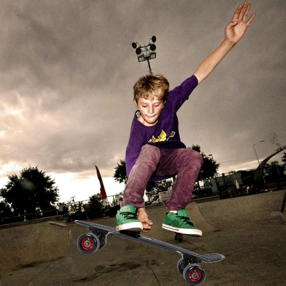 Four Wheel Skateboard Children Kids Skate Board Scooter