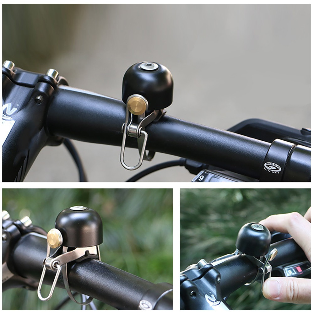 Mini Bicycle Bell Copper Alloy Riding Cycling Bike Accessory