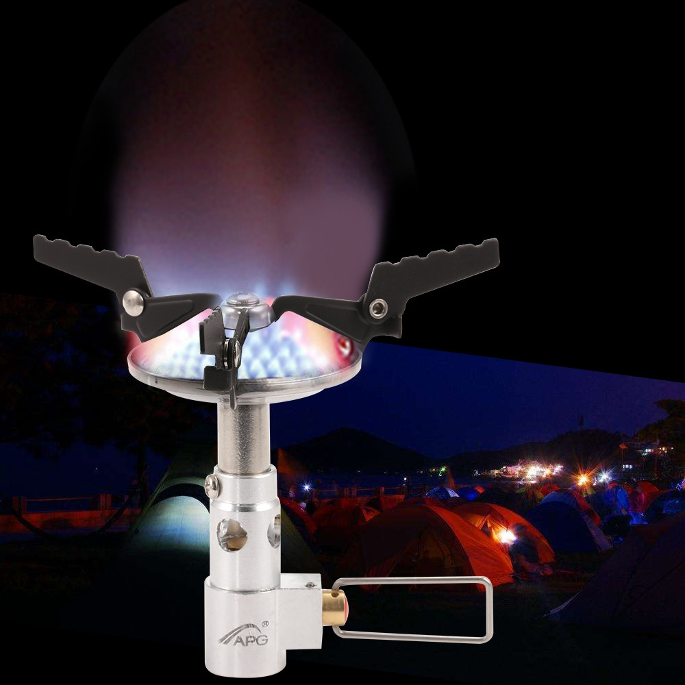 APG STO00477 Outdoor Anti-scald Camping Stove Portable Cooking Equipment