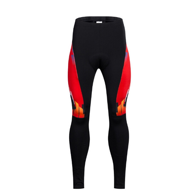 Men Fleece Thermal Long Sleeve Riding Clothes Suit