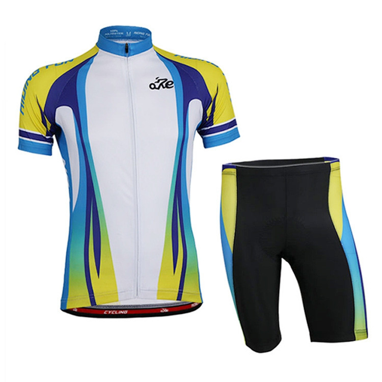 RIDING FUN Men Short Sleeve Riding Clothes Suit