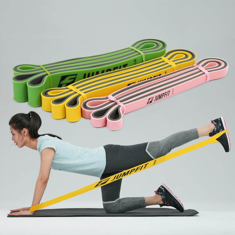 JUMPFIT Resistance Bands Two-tone Pull Up Fitness Stretch Bands