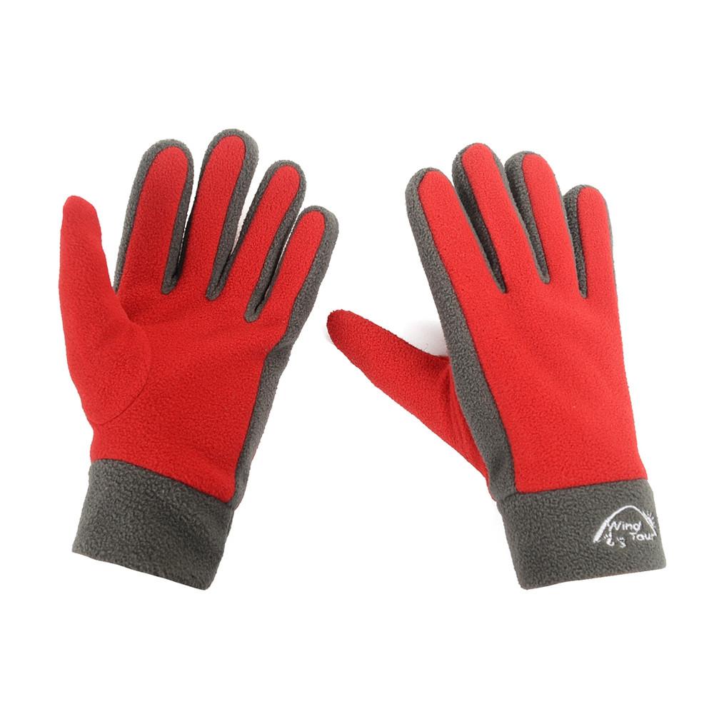 Outdoor Windproof Warm Gloves Climbing Fleece Fabric