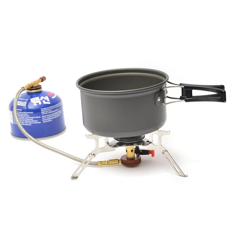 Portable Mini Stove Integrated Burner