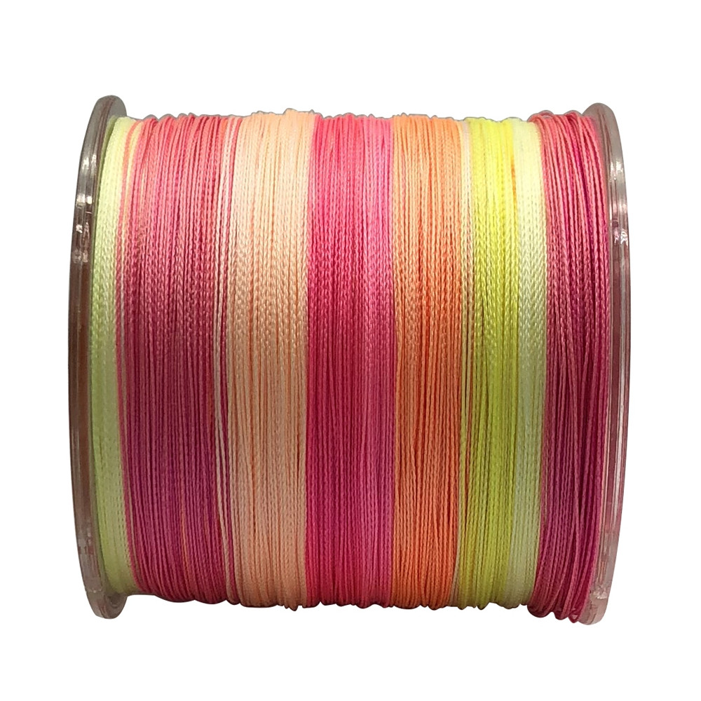 Braided PE Fishing Line 4 Strands Super Strong for Saltwater and Freshwater