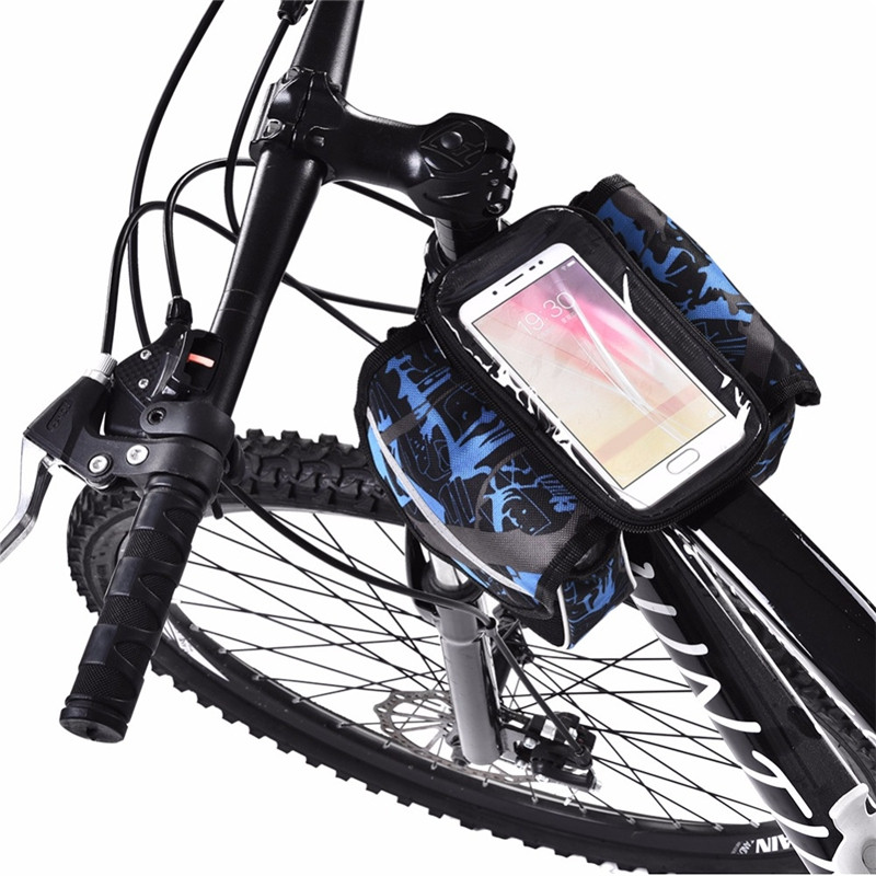 Bike Bag Rainproof Touch Screen Reflective