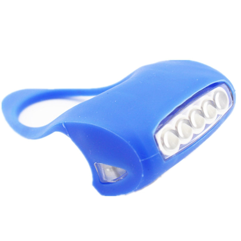 7 LED Frog Bicycle Lights Warning Gel Lamp Bullfrog Mountain Bike Headlight