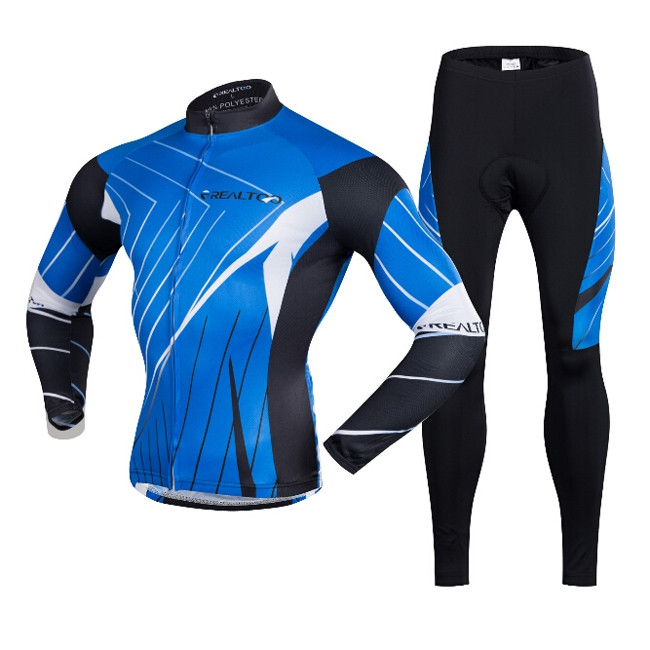 Men Breathable Long Sleeve Riding Clothes Suit