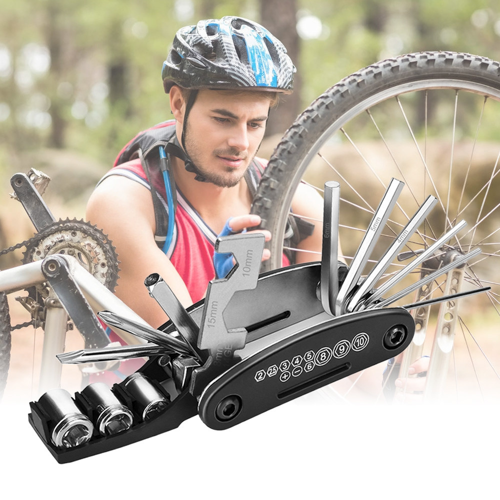 22 in 1 Multifunction Bike Repair Tool Kit