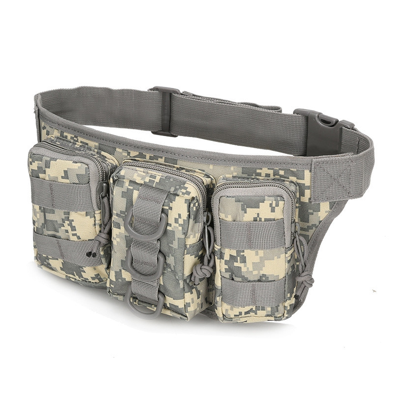 Waterproof Outdoor Training Camouflage Tactical Waist Bag