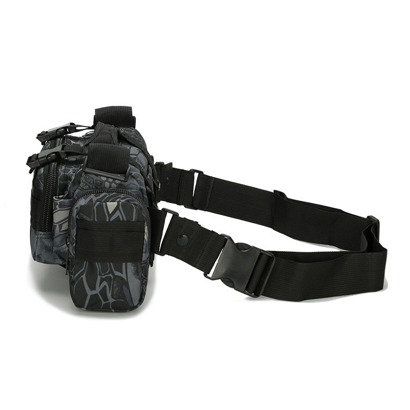 Multifunctional Outdoor Sports Running Camouflage Tactical Waist Bag
