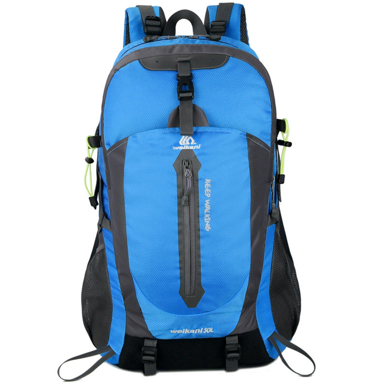 New Outdoor Sports Backpack 50L Mountaineering Bag Travel Backpack Hiking Campin
