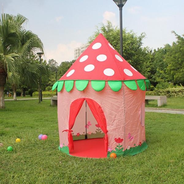 WZFQ Children Cute Princess Castle Tent