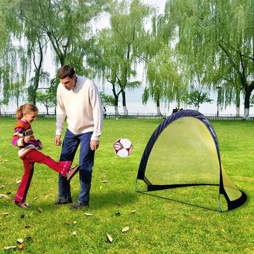 Pop Up Children's Soccer Goal Folding Portable Sets