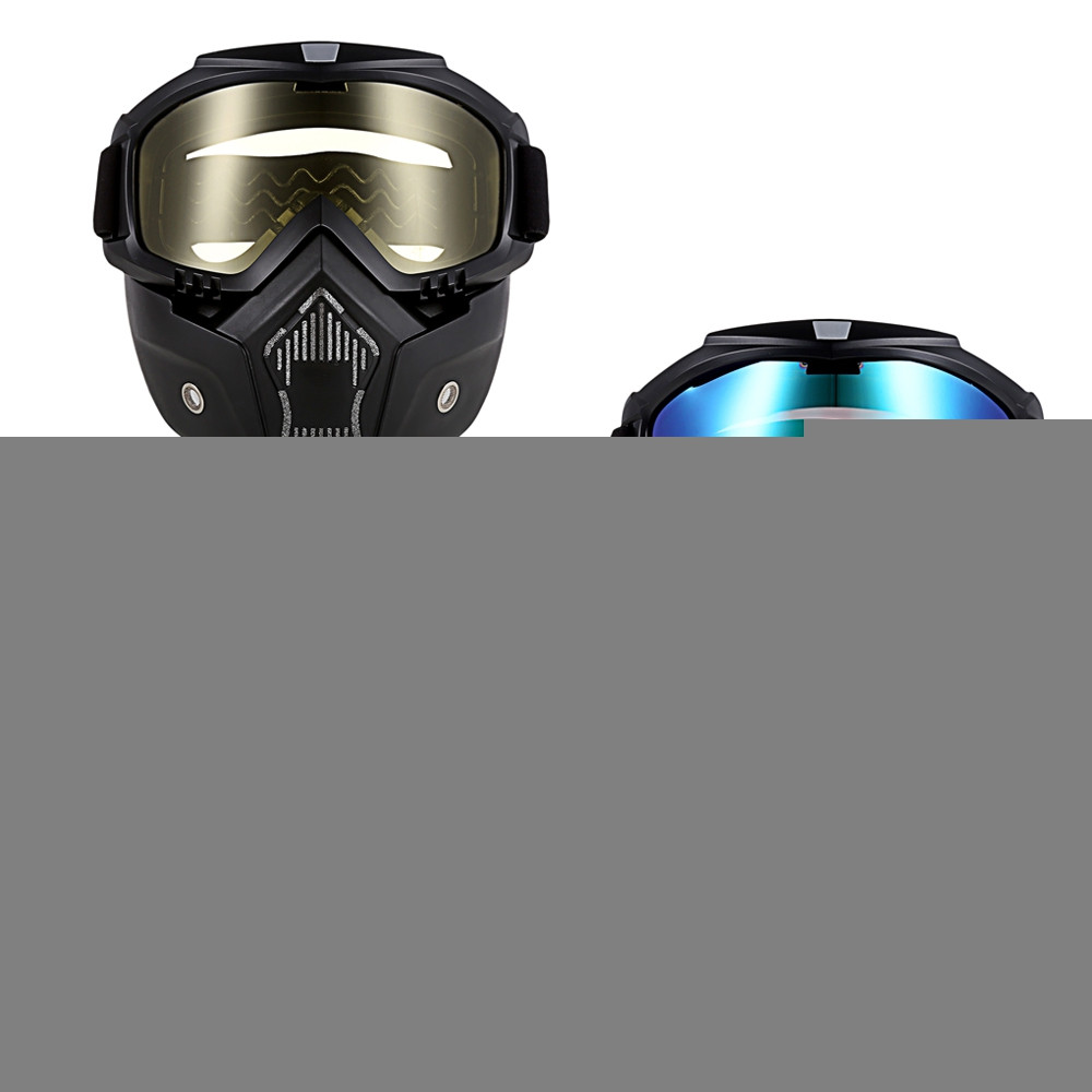 ROBESBON MT - 009 Motorcycle Goggles with Mask