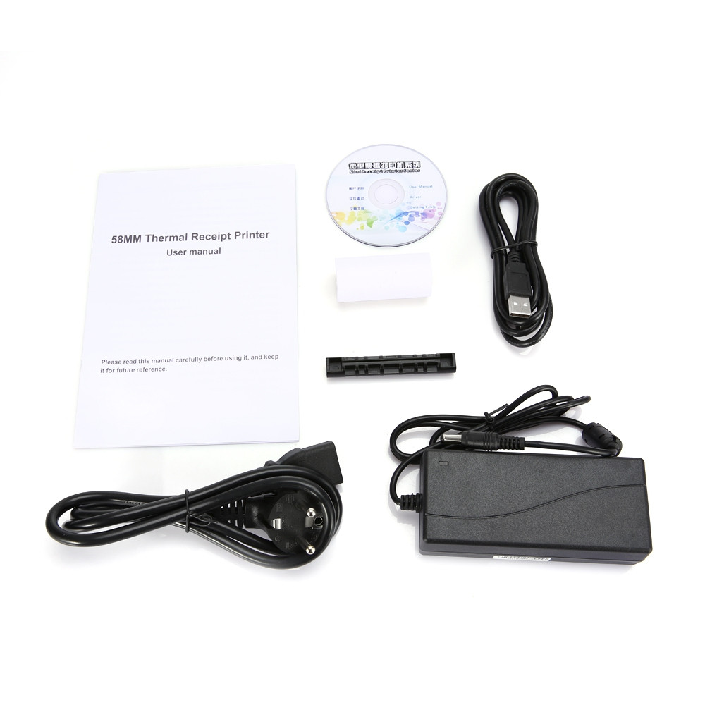 HOIN HOP - E58 USB / Bluetooth Portable Thermal Receipt Printer