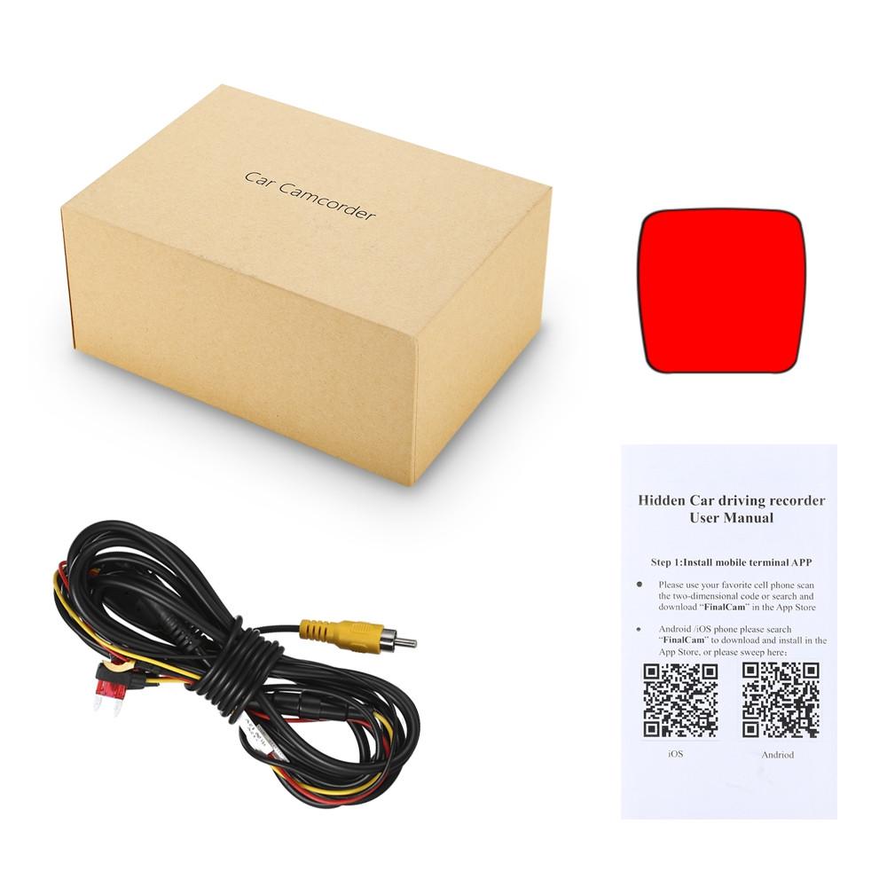 ZEEPIN RS300 WiFi Hidden Dash Cam