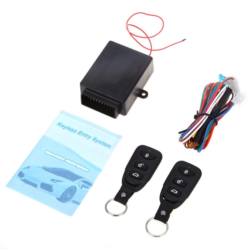 433.92MHz Universal Car Auto Vehicle Remote Central Kit Door Lock Unlock Window Up Keyless Entry System