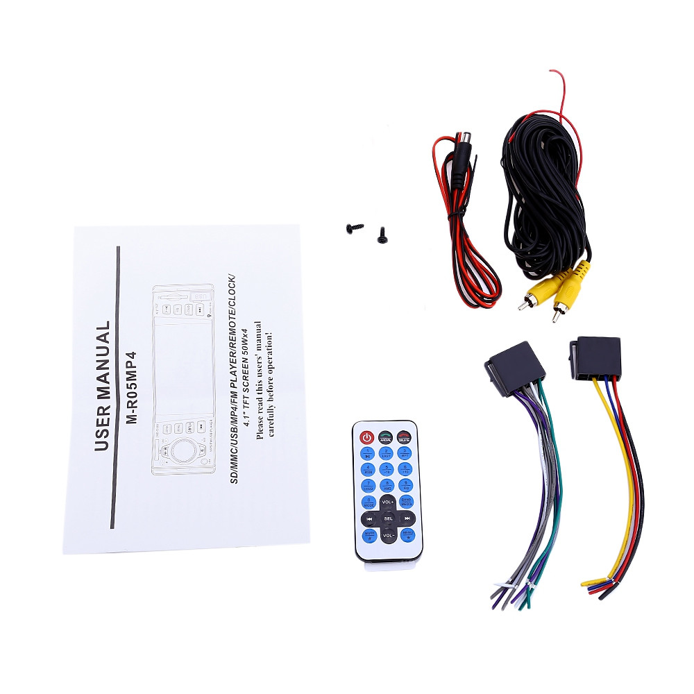 JSD - 5118 7020G 4.1 inch Car Digital MP5 Player Remote Control