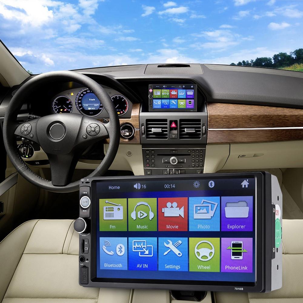 Universal 7010B 7 inch Bluetooth Car MP5 Player