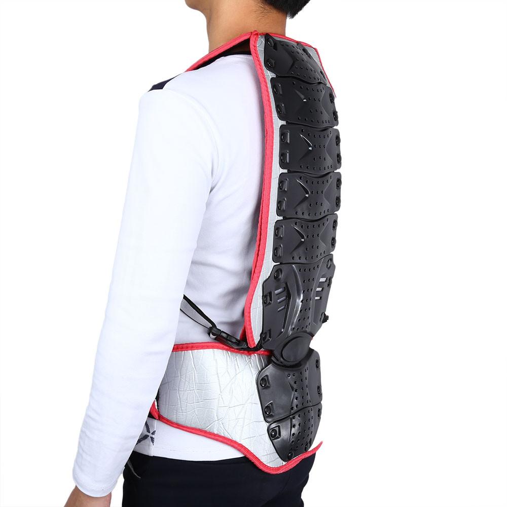 SALETU Motorcycle Racing Riding Skating Armor Backpiece Waist Back Spine Protector