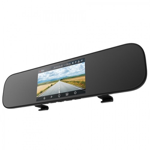 Xiaomi Mijia 5 inch Touchscreen Smart Rearview Mirror Car DVR with Voice Control