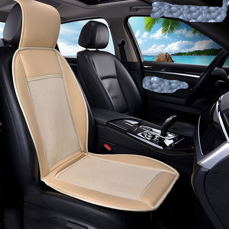 12V Cold Car Seat Cushion Cooler Buffer Cover Summer Cooling Chair With Fan