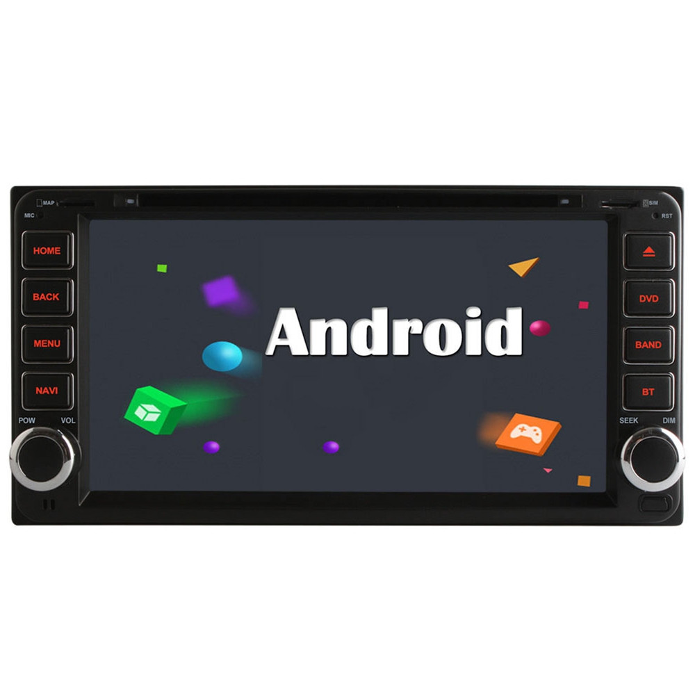 Ownice S7606 6.95 inch Universal Dual Din Android 6.0 Car DVD Stereo Player Bluetooth Touch Screen for Toyota