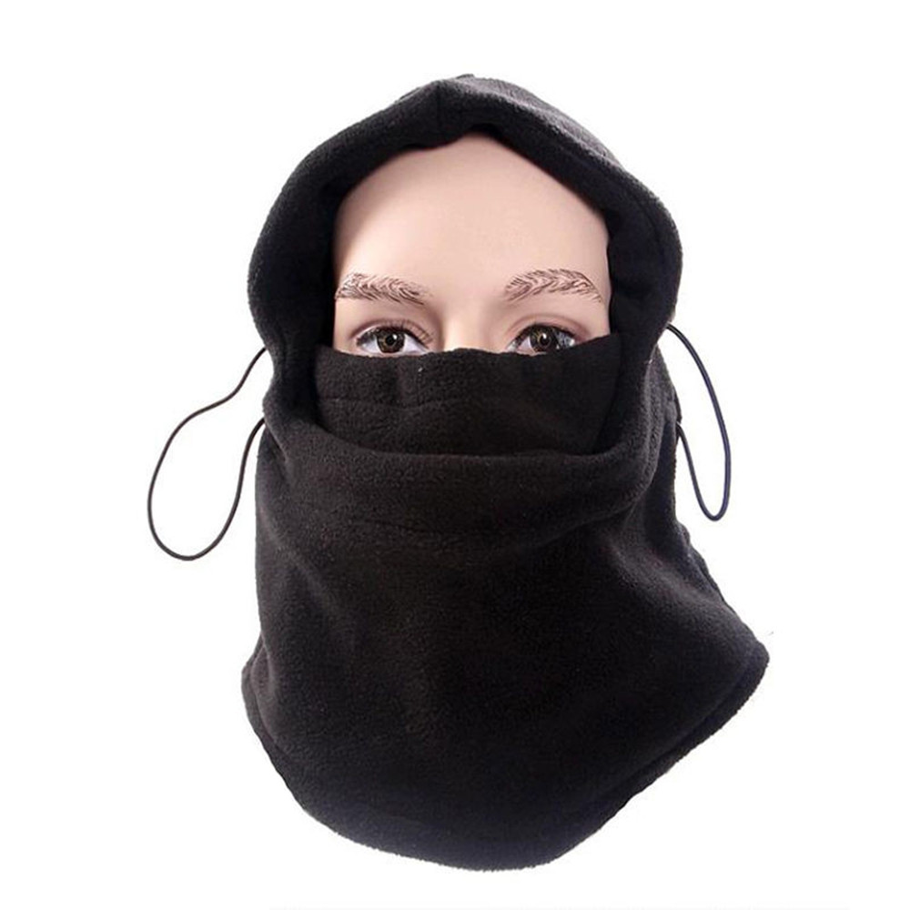 Male And Female Winter Thickening Outdoor Riding Windproof Cap Mask