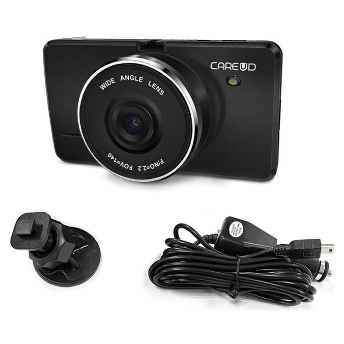 CAREUD DVR850 HD I3.0 inch Mega Screen 1080P Driving Recorder