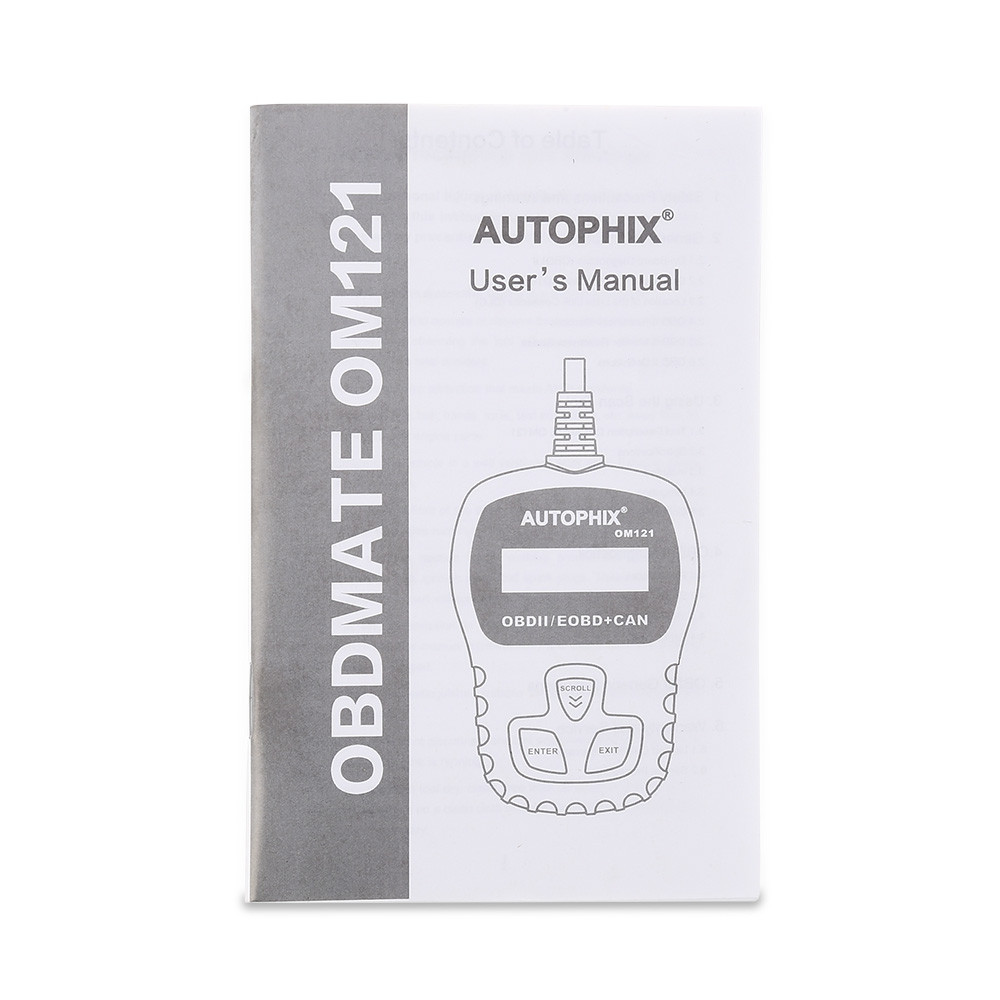 Autophix OM121 OBD II Car Code Reader Diagnostic Scan Tool