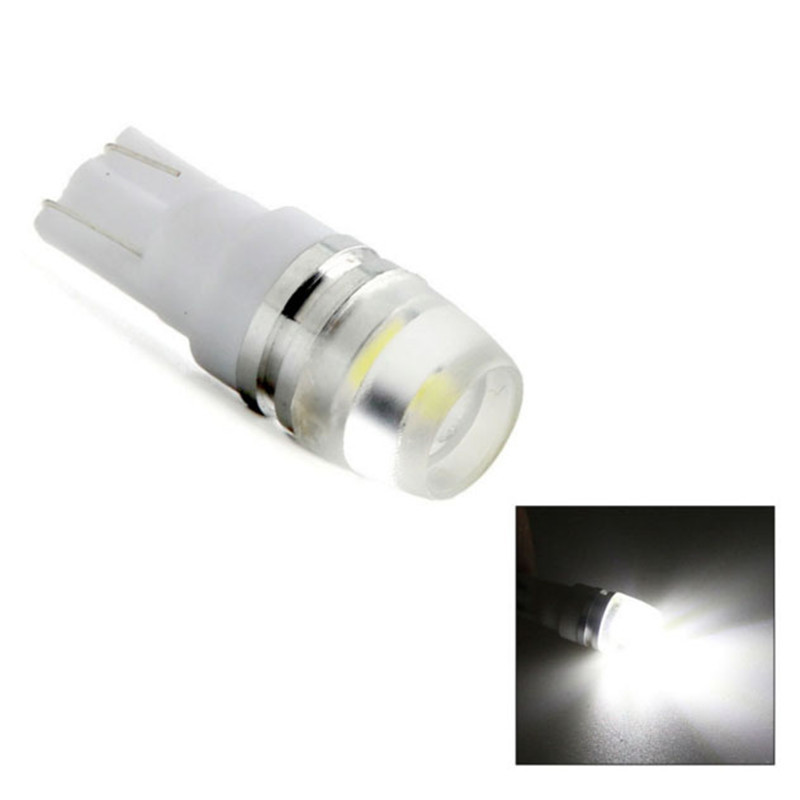 2 Pcs T10 1.5W Car LED Signal Bulb Reading Lights Dome Lamps