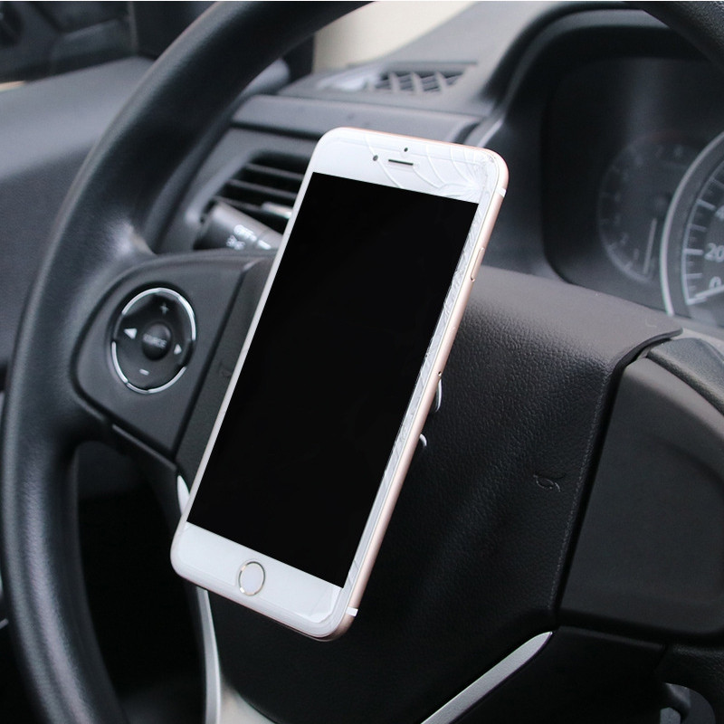 Car Universal Magnetic Steering Wheel  Installation Phone Holder