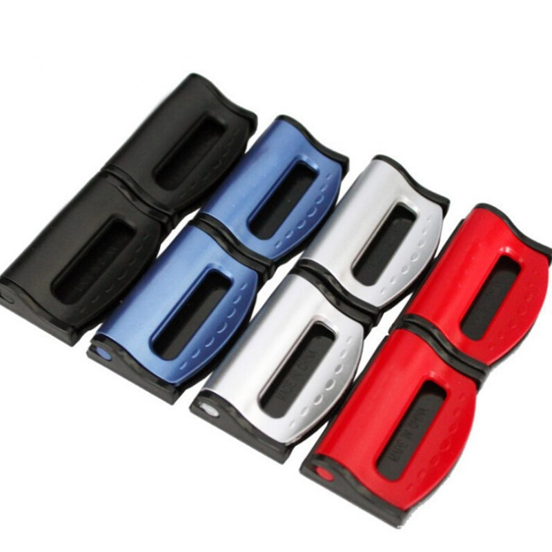 2pcs Car Universal Safety Belt Clips Fixer