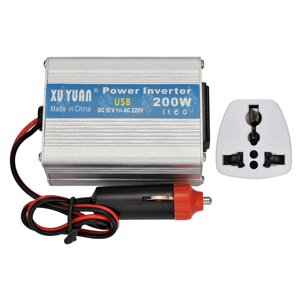Xuyuan 12V to 220V 200W Car On Board Inverter Converter