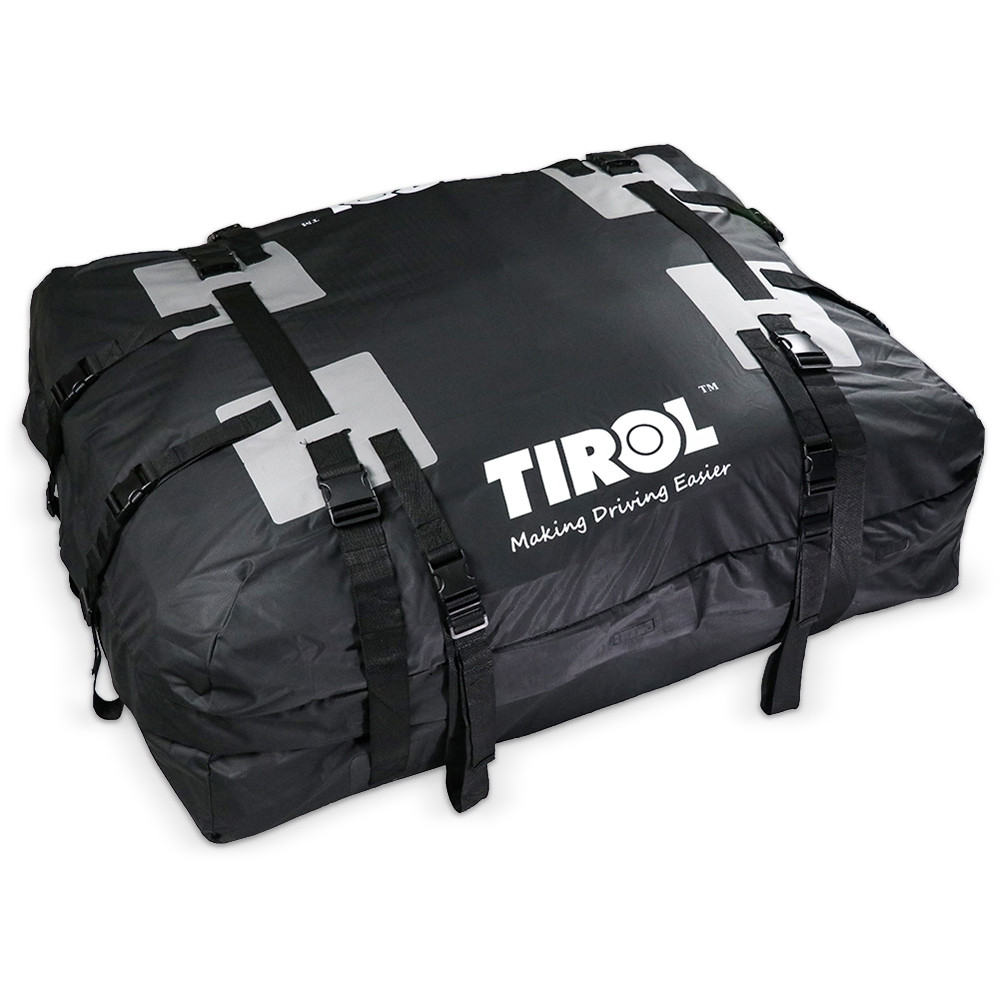 TIROL T24528 Super Large 295L Roof Top Cargo Carrier Bag